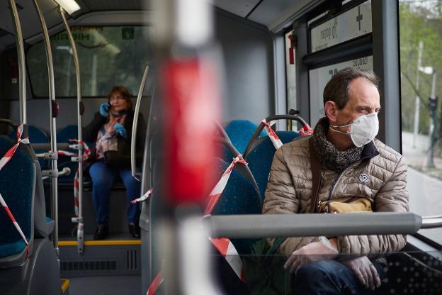 recomendaciones en transporte público Covid