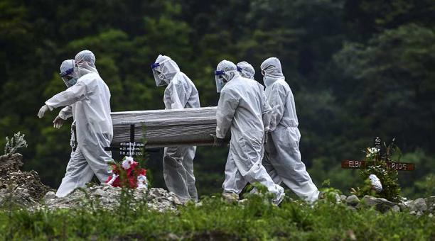 ¿Cuántos muertos por COVID hay en los hospitales de SPS, según médicos?