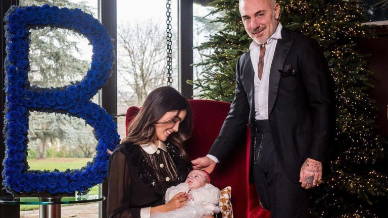 Hija de Gianluca Vacchi nació con paladar hendido: ¿qué él hizo tras enterarse?