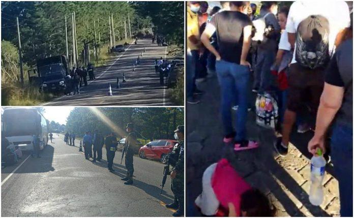 Caravana de migrantes Honduras