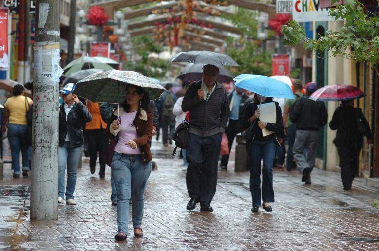 CLIMA DE ESTA TARDE: Persisten las lluvias y chubascos en gran parte del país