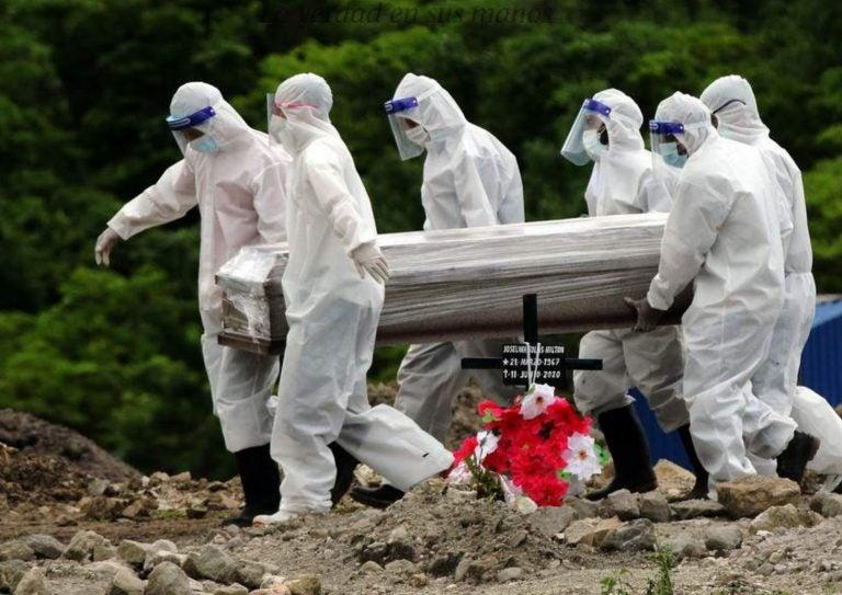 Estos 7 departamentos de Honduras reportan mayor tasa de letalidad en casos COVID-19