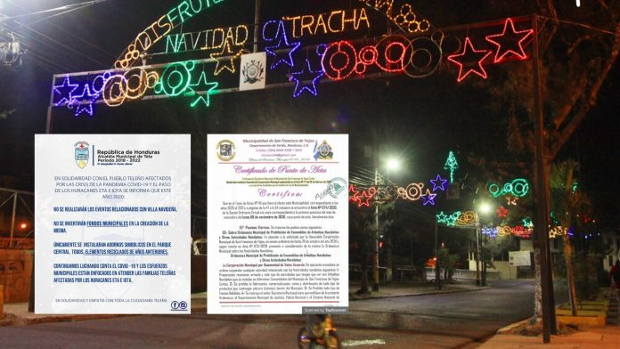 Celebraciones navideñas Honduras