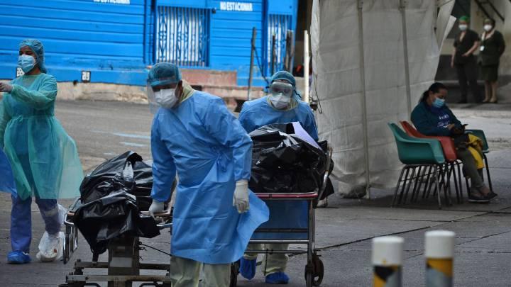Hospitales de SPS reportan aumento en cifras de fallecidos por COVID-19