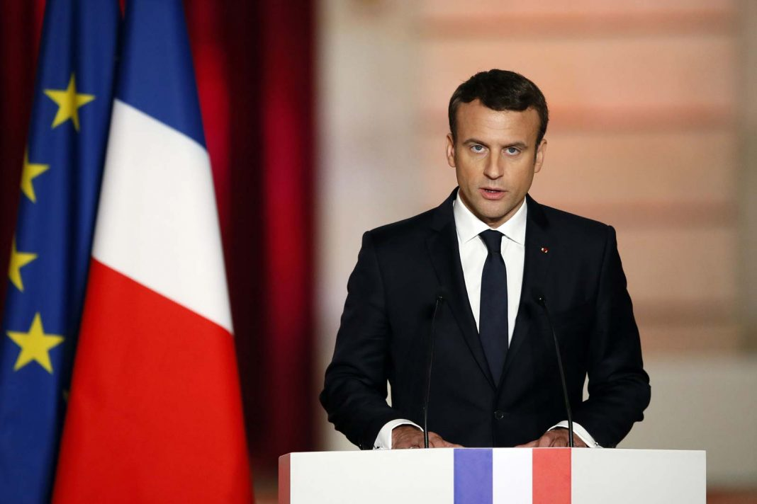 Emmanuel Macron Francia covid-19