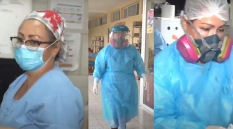 Jefa de Sala COVID-19 del Tórax: No quiero volver a preparar 7 cadáveres al día