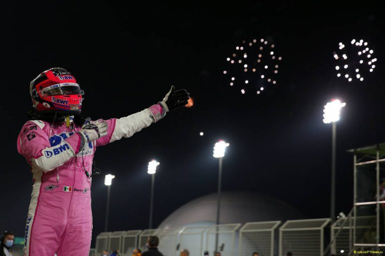 'Checo' Pérez es el quinto mejor piloto de la Fórmula 1