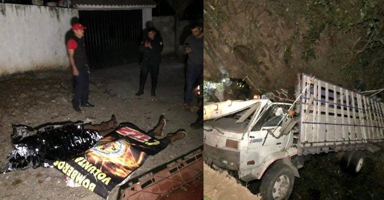 Caravana: Hondureños de 14 y 18 años mueren aplastados en Guatemala