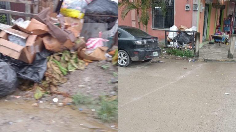 SPS: poblador denuncia que Sulambiente no recolecta por completo la basura en su colonia