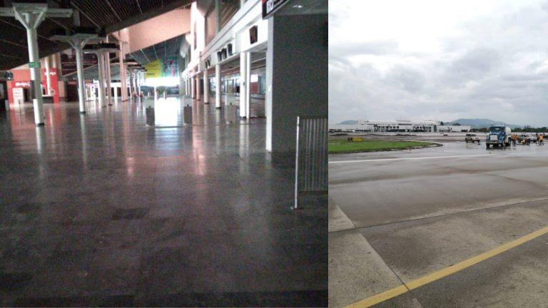 ¡Brilla de nuevo! Aeropuerto de SPS prácticamente limpio; así luce actualmente