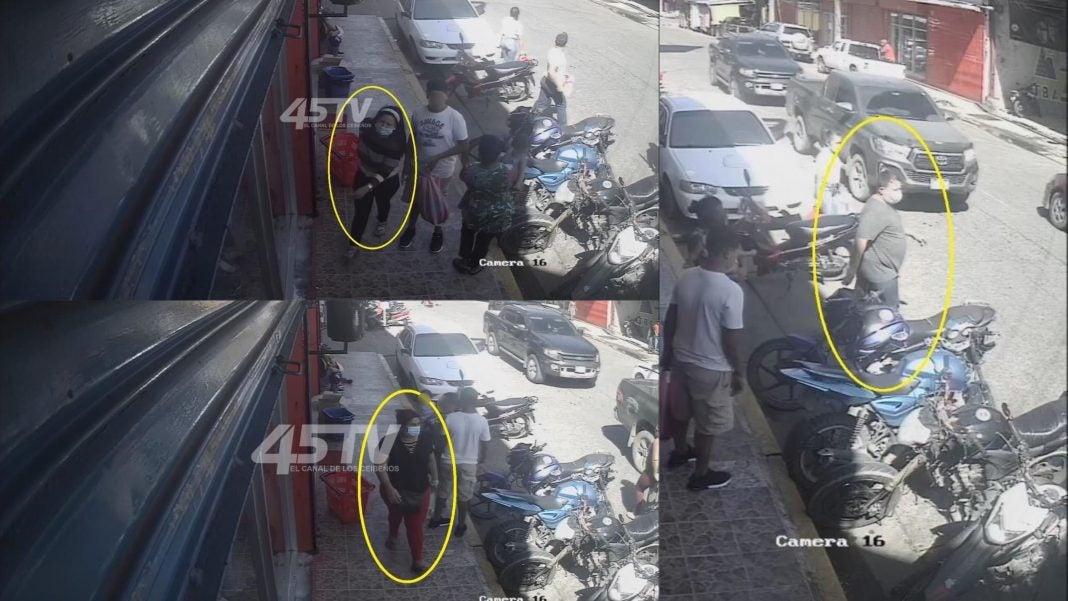 ladrones roban La Ceiba