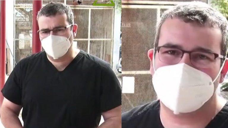 Médico del HLMV llora de miedo ante aumento de contagios de COVID-19