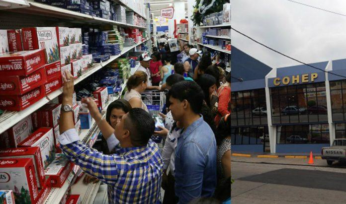 COHEP aguinaldos en Honduras