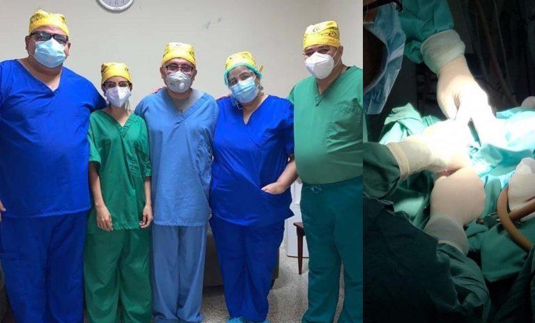 Honduras: colocan implante coclear a niña para que recupere su audición