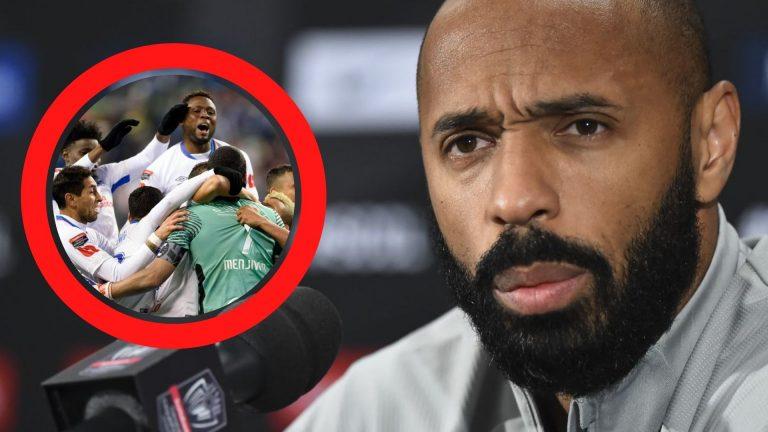 Thierry Henry: «Hay que luchar para ganar el partido»