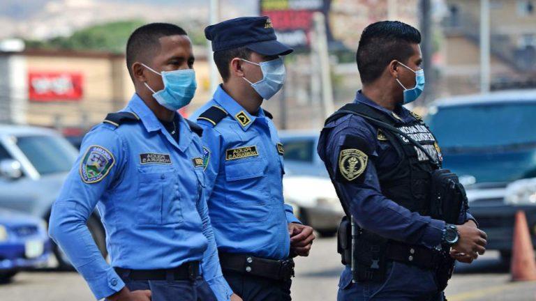 Honduras: COVID-19, causa de al menos 64 % de muertes de policías en 2020