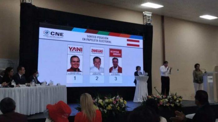 papeletas elecciones primarias 2021