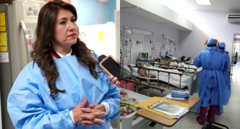 Sesal sostiene que ocupación hospitalaria por COVID-19 es de 40 %