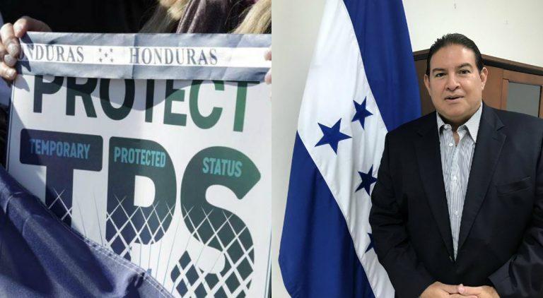 """Embajador de Honduras: """"Luchamos por nuevo TPS, residencia y hasta naturalización"""""""