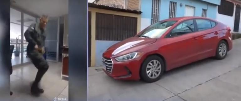 Libre conductor que atropelló a ex militar tiktokero; él se le habría lanzado