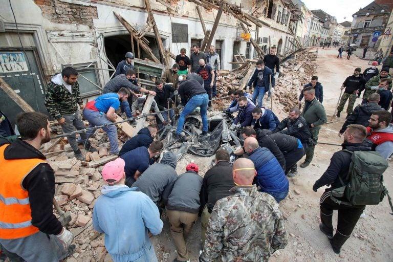 Terremoto de magnitud 6,4 sacude a Croacia; muere una niña