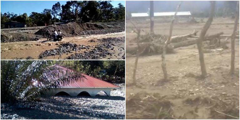 VIDEO  Así están algunas zonas del Valle de Leán y sector Florida, tras inundaciones
