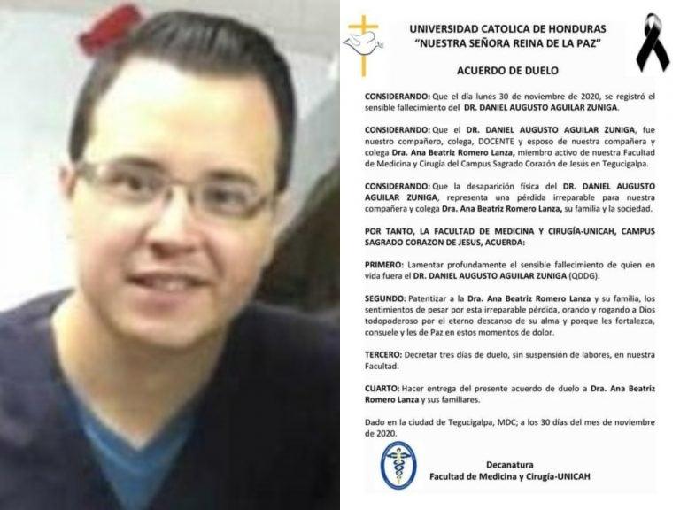 En México fallece Daniel Aguilar, hijo del expresidente del TSE, Agusto Aguilar
