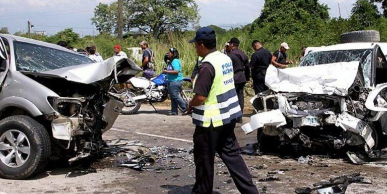 DNVT: Más de 100 accidentes durante el fin de semana; 12 muertos