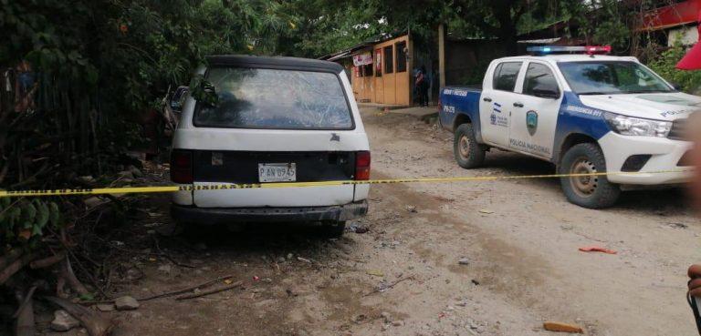 SPS: matan a un hombre mientras hacía una galera de madera