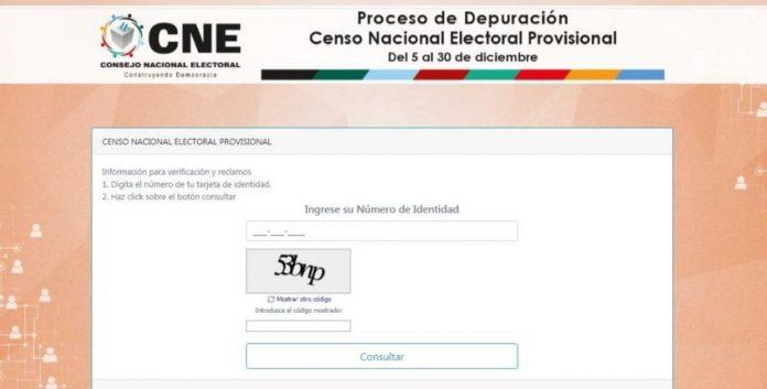 RNP censo provisional