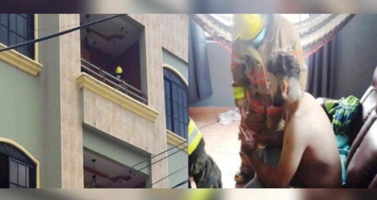 El Progreso: hondureño intenta lanzarse de un edificio para quitarse la vida