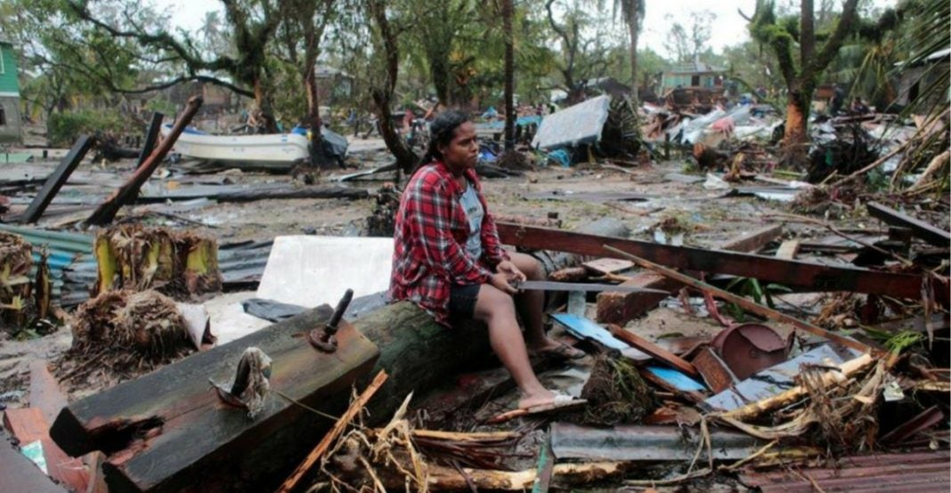 hondureños que perdieron viviendas