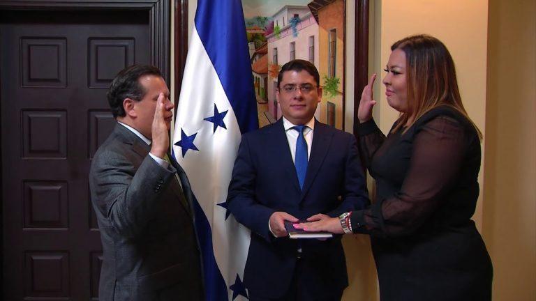 Adiós a Herrera Cáceres; Blanca Lozano es la nueva titular del CONADEH