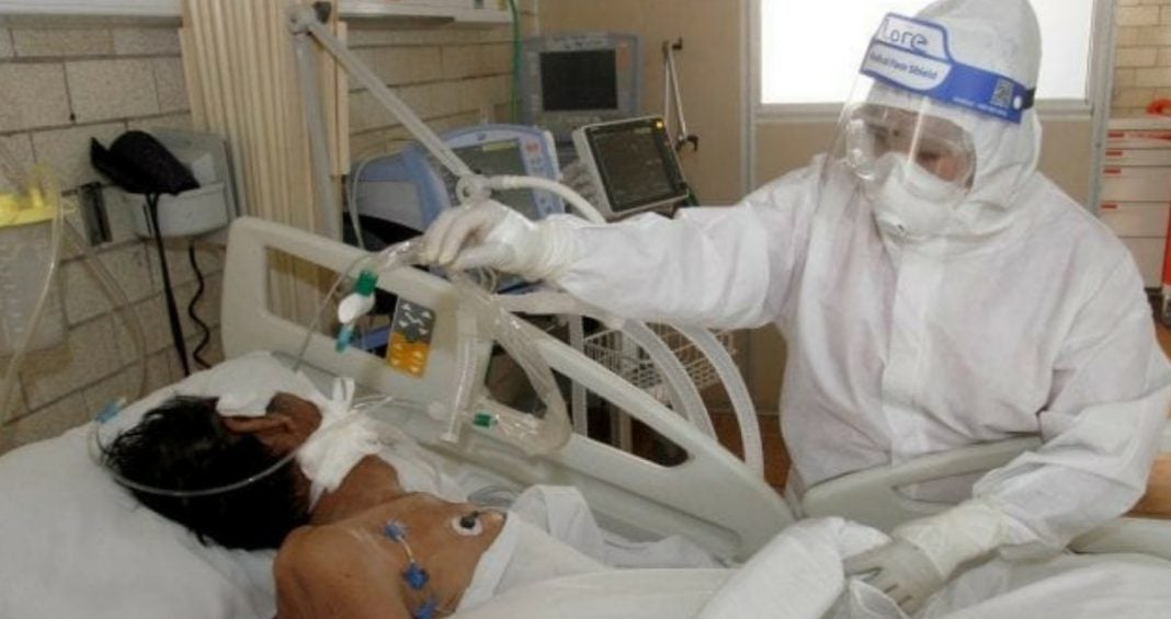 paciente grave de COVID-19