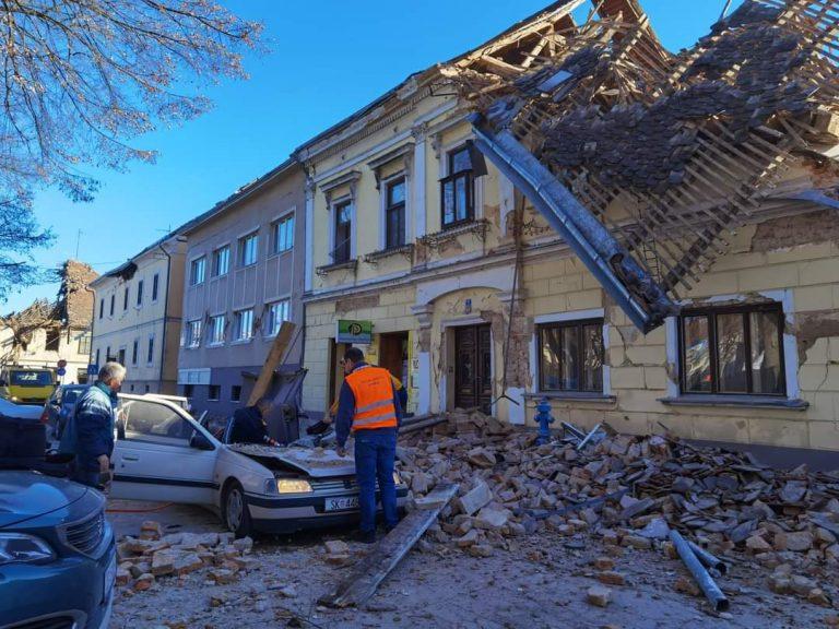 GALERÍA| Destrucción: después del fuerte terremoto en Croacia, así lucían las calles