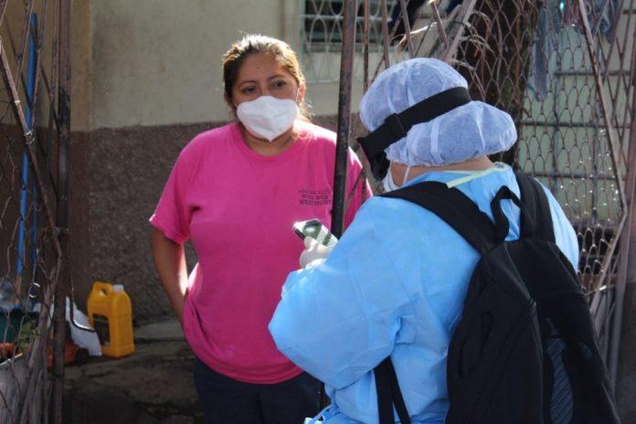 Salud positivos COVID-19 Honduras