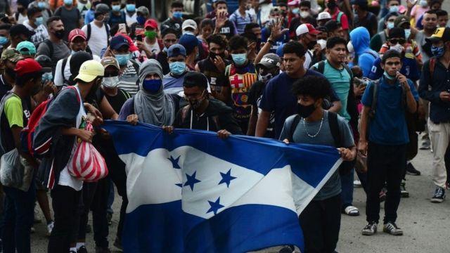caravana de migrantes más grande