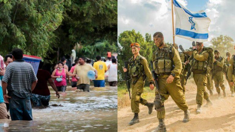 Expertos de Defensa Israelí ayudan a Honduras tras desastre de Eta e Iota
