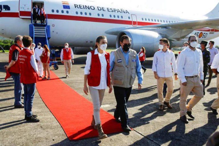 La agenda de la reina Letizia: visitará un albergue y una escuela en el Valle de Sula