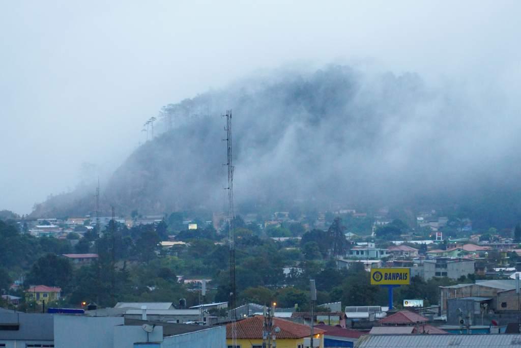 temperaturas bajan en Honduras