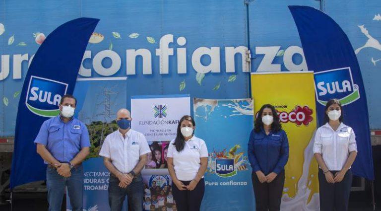 ¡Solidaridad! Fundación Kafie entrega 5 mil kits para familias afectadas por Iota y Eta