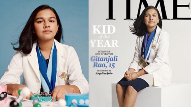 Gitanjali Rao niña del año Revista Time