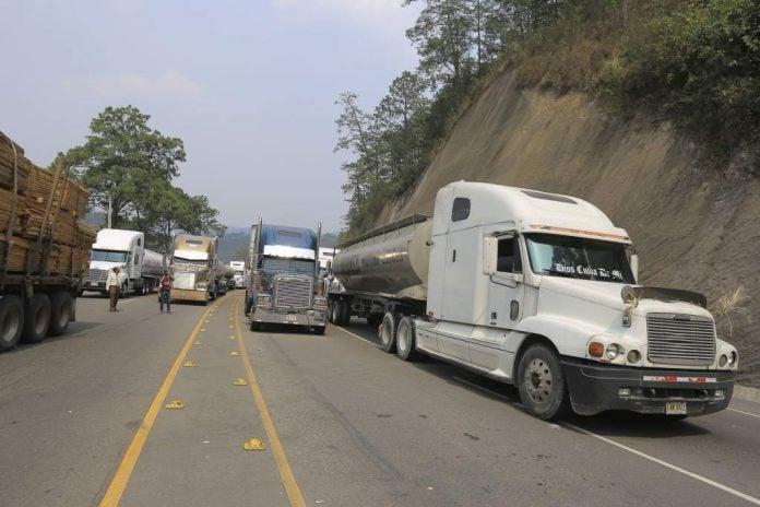 transporte de carga Honduras Gobierno