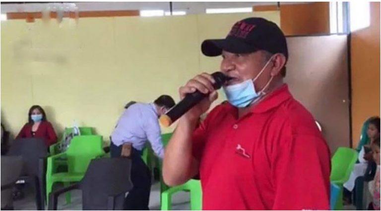 Coalición: Líder indígena asesinado en La Paz denunció persecución política