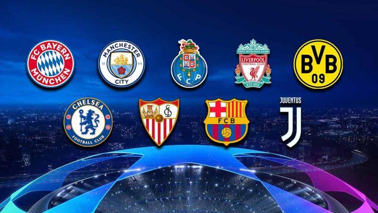 Los clasificados a Octavos de final hasta ahora de la Champions League