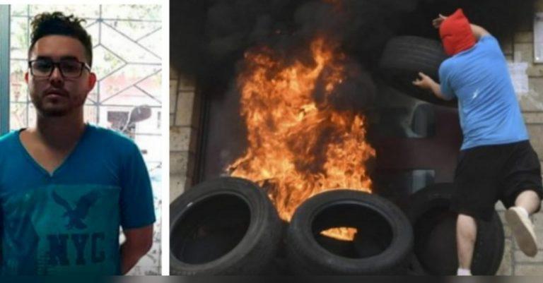 Declaran culpable a Rommel Herrera por quema de embajada; hay protestas