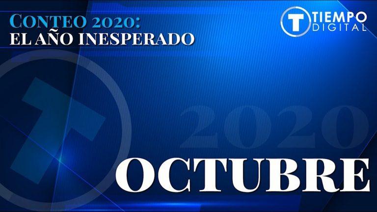 OCTUBRE  Conteo 2020: El año inesperado