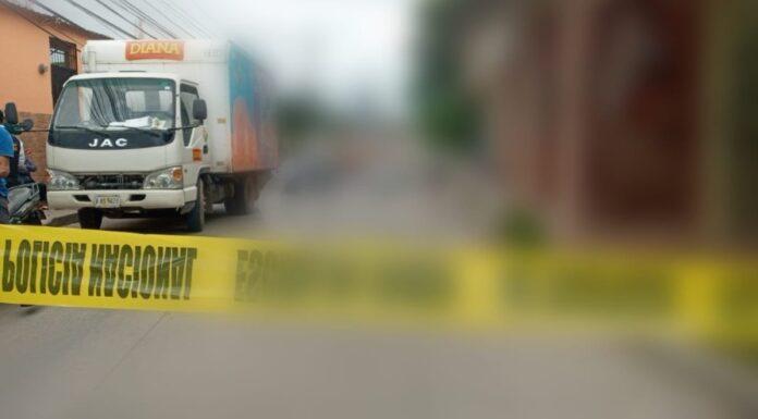 TGU: camión repartidor atropella y mata a niño en colonia Las Palmas