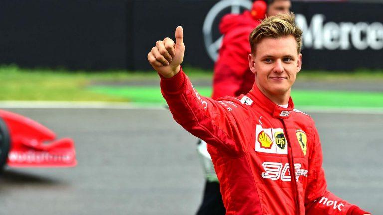 Mick Schumacher cumple su sueño de llegar a la Formula 1