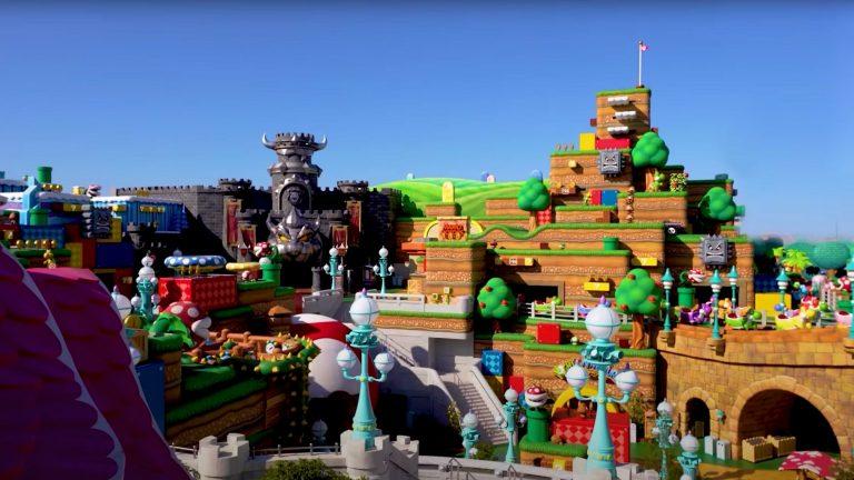 Aborda un viaje al mundo de Mario en el parque Súper Nintendo World